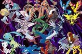 Top 5 Pokemon huyền thoại mạnh nhất thống trị thế giới