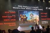 Asus và Acer công bố laptop gaming màn hình 300Hz đầu tiên