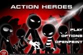 Phiêu lưu cùng Người gậy trong Action Heroes 9-in-1