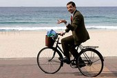 Đạp xe để… sạc điện thoại