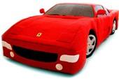 Siêu xe Ferrari làm từ len