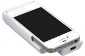 Monolith – Case cho iPhone 4 kèm chức năng máy chiếu và pin phụ