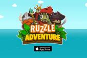 Ruzzle Adventure – Game giải đố nhẹ nhàng cho iPhone