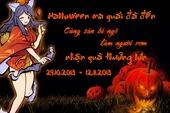 Vườn Mỹ Nữ chiều lòng game thủ trong mùa Halloween