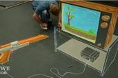 [Video] Vẽ phấn game bắn vịt cực đỉnh