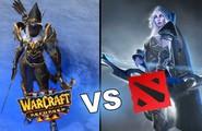 So sánh đồ họa giữa DOTA 2 và Warcraft 3 DotA phiên bản làm lại 4K