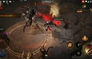 Chiêm ngưỡng màn đánh trùm cuối cực khủng trong Diablo Immortal