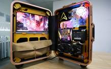 Trải nghiệm chơi game trên chiếc PC 'vali' cực độc cực đẹp: Mượt mà những mà... mỏi cổ