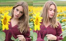 Tan chảy với vẻ đẹp của thiên thần quần vợt 15 tuổi: Makenzie Raine