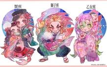 Mãn nhãn với bộ ảnh vẽ 12 cung hoàng đạo theo phong cách nhân vật trong Kimetsu no Yaiba