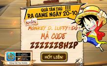 Game One Piece siêu HOT của tháng 10 - Mộng Hải Tặc Mobile chính thức ra mắt, tặng ngay 1000 Giftcode