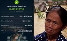 Mẹ con bà Tân Vlog ủng hộ miền trung 50 triệu VND, cộng đồng mạng khen ngợi vì nghĩa cử cao đẹp