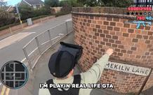 Youtuber tự chế camera để biến trải nghiệm GTA V ngày ngoài đời thực