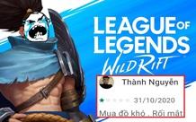 Tốc Chiến server quốc tế bị rate thấp kỷ lục, trong đó toàn game thủ Việt vote 1 sao và bình luận cực khó đỡ