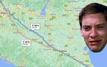 Người đàn ông đi bộ một mạch 418km để giải tỏa stress sau khi cãi nhau với vợ