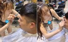 Cộng đồng mạng ngỡ ngàng trước hot girl cắt tóc cực phẩm:
