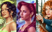 Ngẩn ngơ khi ngắm các ngôi sao Hollywood xinh đẹp hóa thân thành công chúa Disney