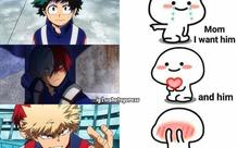 Bạn thích nhân vật anime nào, hãy thử bắt đầu với cụm từ