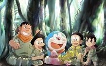Bộ tranh Doraemon và bè bạn siêu đáng yêu dành cho các fan hâm mộ mèo máy
