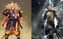 Phát sốt trước những hình cực ngầu của Goku và các nhân vật anime nổi tiếng khi trở thành kiếm sĩ