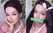 Tan chảy với vẻ đẹp trưởng thành của Nezuko qua bộ ảnh của nàng coser nước Nga
