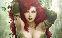 Chiêm ngưỡng 10 tác phẩm fan art tuyệt vời phô diễn nhan sắc nóng bỏng của Poison Ivy- kẻ thù quyến rũ nhất của Batman