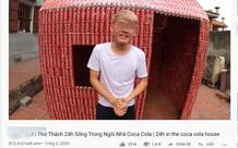 Thử thách xây nhà bằng 5.000 lon coca, con trai bà Tân Vlog khiến cộng đồng mạng ngán ngẩm
