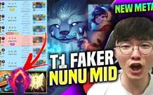 LMHT: Rank Hàn đem toàn pháp sư 'thế kỷ trước' ra đường giữa chỉ để chống lại Nunu Mid của Faker