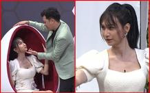 Lynk Lee ngượng đỏ mặt khi Trường Giang đòi hôn trên sân khấu