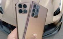 Lộ concept iPhone 12 và Samsung Galaxy Note 20 Ultra đẹp nhức nhối