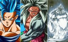 Dragon Ball: Super Saiyan 100 và những trạng thái biến đổi