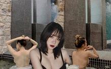Khoe ảnh tắm lưng trần gợi cảm, nàng hot girl Việt khiến cộng đồng mạng bỏng mắt, tới tấp xin info