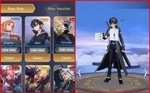 Liên Quân Mobile: Sự thật về Event tặng FREE skin Kirito và Asuna khiến game thủ