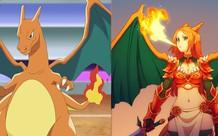 10 bức ảnh fanart cho thấy hóa ra Pokemon khi trở thành con người lại