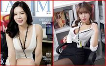 Ngắm bộ ảnh phơi bày sự quyến rũ của dàn nữ nhân viên văn phòng gợi cảm Maxim