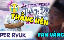 Fan cuồng Cậu Vàng thóa mạ đối thủ và BTC giải showmatch vì thần tượng thua kèo Yasuo khiến cộng đồng ngán ngẩm