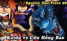 One Piece: Kaido trong dạng hóa Rồng mạnh như thế nào, một cú