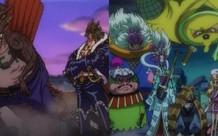 SBS One Piece Tập 97: Tiết lộ thông tin cá nhân của 2 nhóm cực mạnh dưới quyền Kaido và Orochi