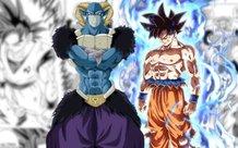 Dragon Ball Super chapter 64: Goku tự xé áo mình, dùng bản năng vô cực