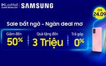 Samsung tiếp tục hợp tác với Lazada nhằm khuấy động người tiêu dùng khắp Đông Nam Á với những chương trình khuyến mãi độc đáo