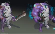 Hình ảnh đầu tiên về Seraphine và Dr. Mundo làm lại, 1 vị tướng có kỹ năng điều khiển kẻ địch sẽ ra mắt đầu năm sau