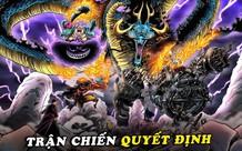 Spoil nhanh One Piece chương 1002: Zoro liên tục phá chiêu của Kaido, Bigmom dùng sét giật điện Luffy