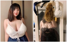 Khoe cận cảnh vòng một hơn 1m sau khi phẫu thuật giảm bớt số đo, hot girl Hải Dương vẫn khiến cộng đồng mạng choáng váng