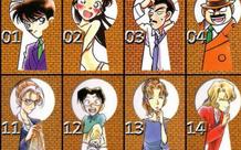 Tổng hợp 100 Keyhole của Thám Tử Lừng Danh Conan, fan thấy tội anh Gin vì sau 27 năm mới được lên bìa lỗ khóa