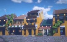 Game thủ tái hiện lại Phố cổ Hội An vô cùng đẹp mắt trong tựa game Minecraft