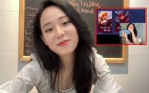 Lần đầu tiên livestream cùng bạn trai mới, cô giáo Minh Thu thử sức