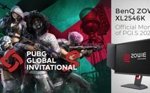 ZOWIE XL2546K của BenQ được công bố là màn hình chính thức của giải đấu PUBG Global Invitational.S 2021
