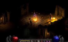 Đánh boss cực đỉnh trong Diablo II: Resurrected, đồ họa 4k mãn nhãn