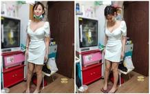 Bị gái xinh ăn mặc gợi cảm