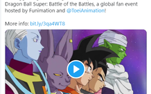 Sự kiện đặc biệt tổng hợp những trận chiến hay nhất từ trước đến nay trong Dragon Ball Super sắp được lên sóng